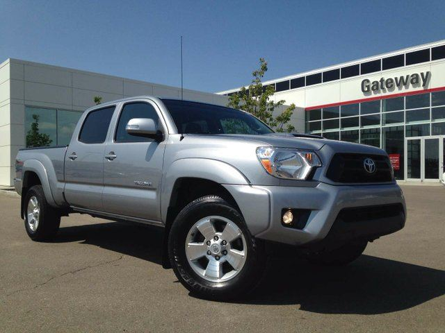 2015 TOYOTA TACOMA V6 4x4 Double-Cab TRD Sport Heated Seats, Backup Cam in Edmonton, Alberta