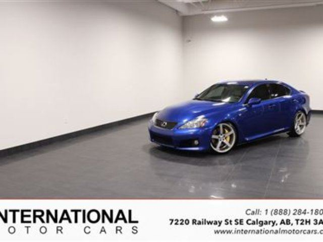 2008 LEXUS IS F *LOTS OF UPGRADES* in Calgary, Alberta