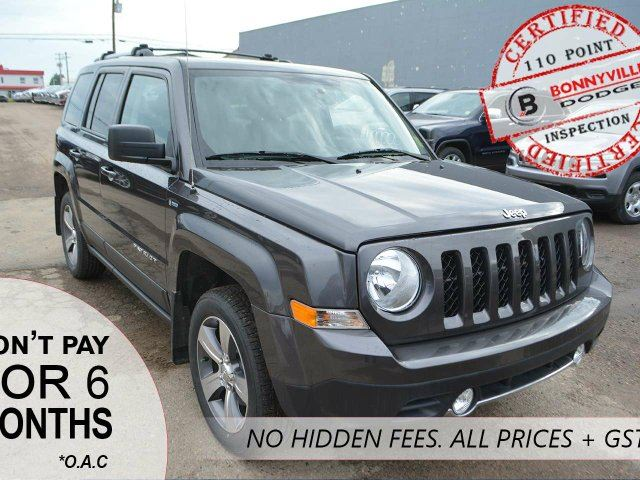 2016 JEEP PATRIOT SPORT, LEATHER, REMOTE START in Bonnyville, Alberta