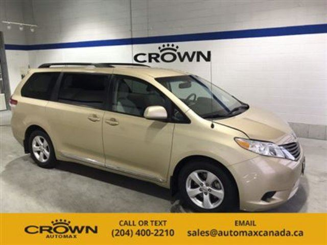 2012 TOYOTA SIENNA 5dr V6 LE 8-Pass FWD in Winnipeg, Manitoba