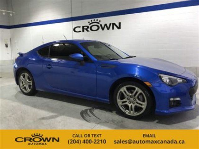 2013 Subaru BRZ 2dr Cpe Man Sport-tech in Winnipeg, Manitoba