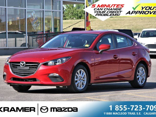 2016 MAZDA MAZDA3 GS w/Back-up Camera and Bluetooth in Calgary, Alberta