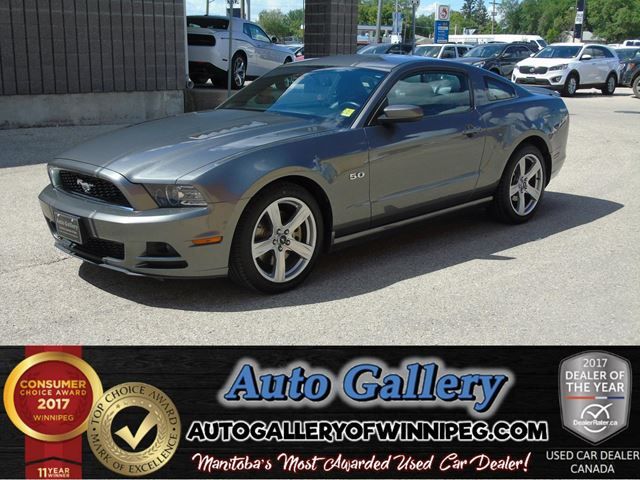 2013 FORD MUSTANG GT *Htd. Lthr Seats in Winnipeg, Manitoba