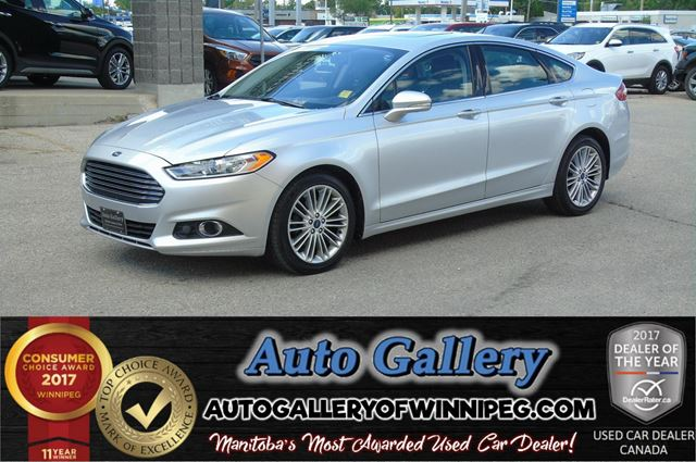 2016 FORD FUSION SE AWD*Lthr/Nav/Roof in Winnipeg, Manitoba