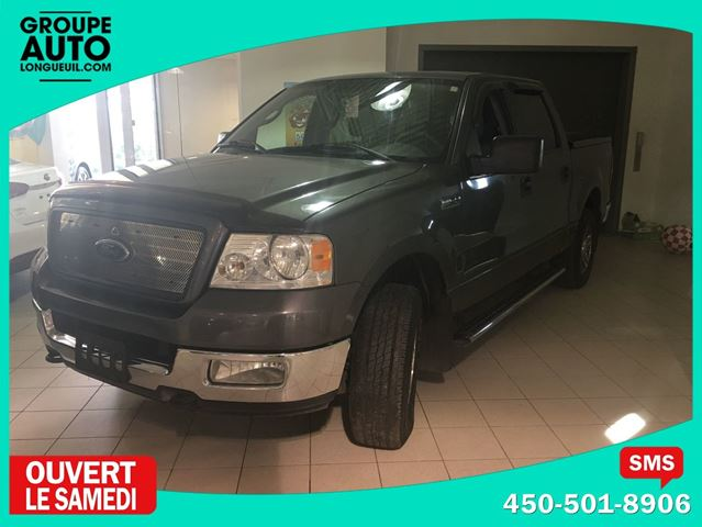 2005 Ford F-150 XLT ** CREW CAB ** V-8 ** 4.6 L ** 4X4 ** in Longueuil, Quebec