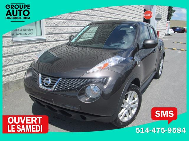 2013 Nissan Juke *SV*AWD*AUTOM*A/C*TURBO*NOIR* in Longueuil, Quebec