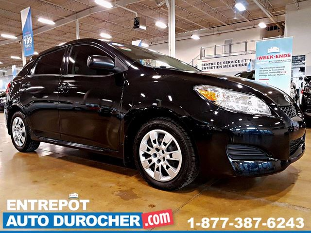 2012 Toyota Matrix AUTOMATIQUE - AIR CLIMATISn++ in Laval, Quebec