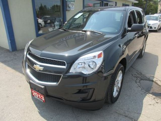 2013 Chevrolet Equinox POWER EQUIPPED LS MODEL 5 PASSENGER 2.4L - ECO- in Bradford, Ontario