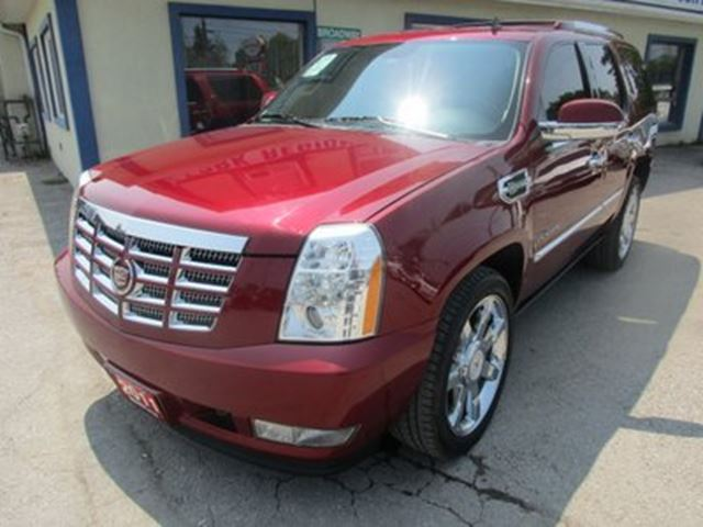 2011 Cadillac Escalade LOADED HYBRID-2 MODEL 8 PASSENGER 6.0L - V8.. 4 in Bradford, Ontario