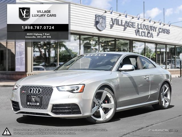 2014 AUDI RS5 4.2 NAVIGATION | SPORT EXHAUST | DRIVE SELECT | 20 INCH WHEELS in Markham, Ontario