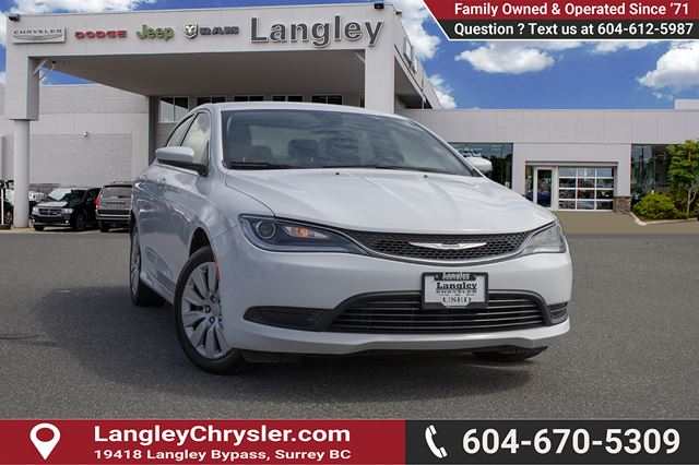 2016 CHRYSLER 200 LX in Surrey, British Columbia