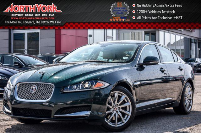 2015 Jaguar XF Nav Sunroof Leather Backup Cam Keyless_Go Meridian Sound 18Alloys in Thornhill, Ontario