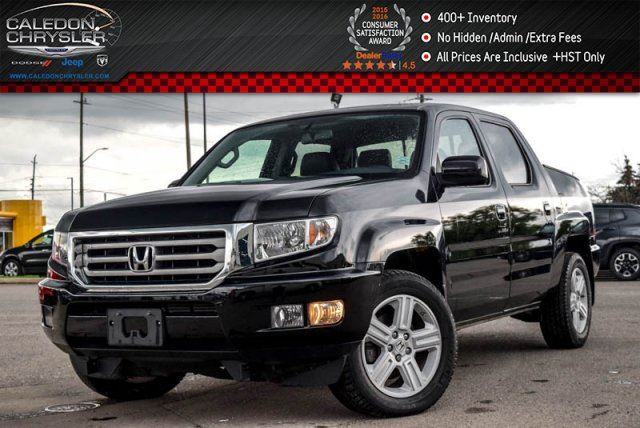 2013 Honda Ridgeline Touring 4x4 Navi Sunroof Backup Cam Bluetooth Leather Heated Front Seats 18Alloy Rims in Bolton, Ontario
