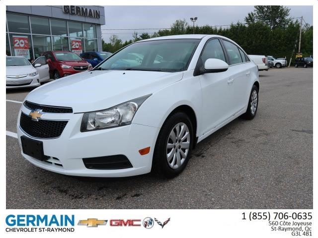 2011 Chevrolet Cruze LT Turbo w/1SA in Saint-Raymond, Quebec