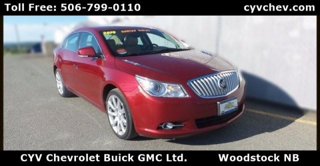 2010 Buick LaCrosse CXS in Woodstock, New Brunswick