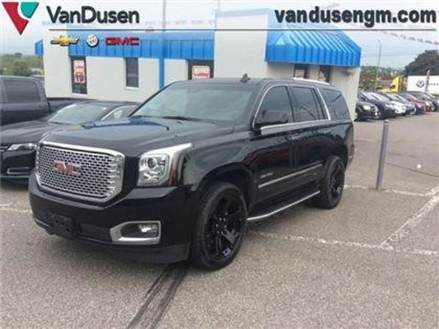 2016 gmc yukon denali ajax ontario car for sale 2836756. Black Bedroom Furniture Sets. Home Design Ideas