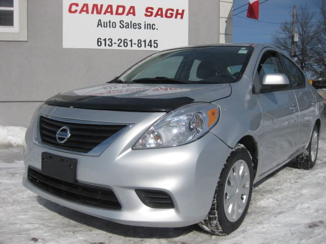 2012 Nissan Versa 12 NISSAN VERSA, PWR GROUP, 126 K, 12 M WRTY+SAFETY ONLY $6990 in Ottawa, Ontario