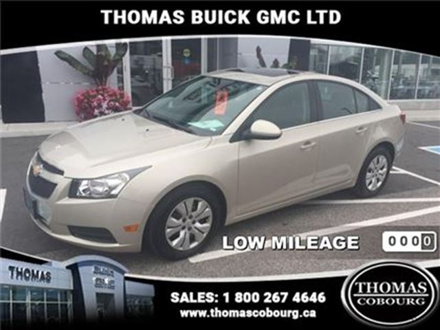2014 CHEVROLET CRUZE LT - Certified - $97.30 B/W - Low Mileage - 160 in Cobourg, Ontario
