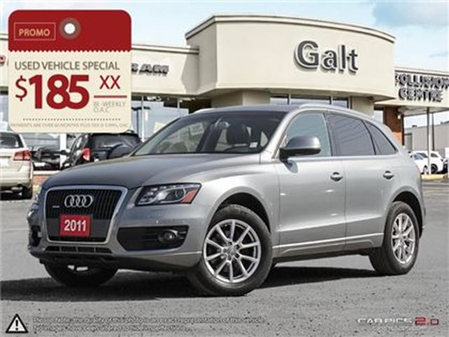 2011 Audi Q5 2.0T Premium (Tiptronic) in Cambridge, Ontario