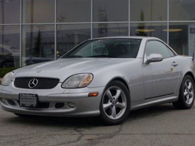 2002 Mercedes-Benz SLK-Class at in North Vancouver, British Columbia