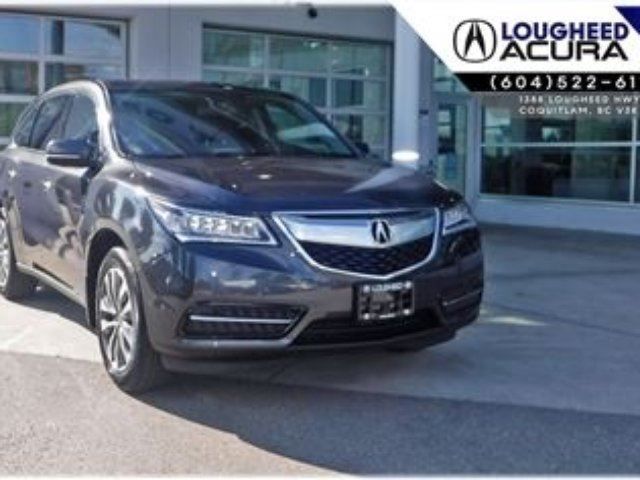 2015 ACURA MDX Navi *Local,Low Kms* in Coquitlam, British Columbia