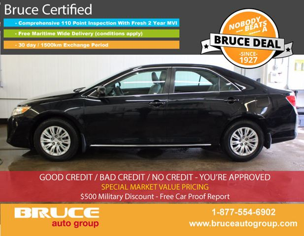 2014 TOYOTA CAMRY LE 2.5L 4 CYL AUTOMATIC FWD 4D SEDAN in Middleton, Nova Scotia