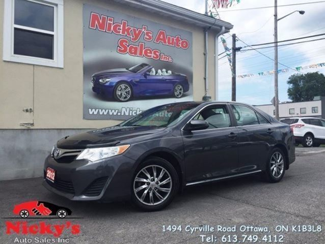 2012 Toyota Camry LE - ALLOY WHEELS - LOADED! $0 DOWN $117 BI-WEE in Ottawa, Ontario
