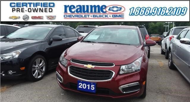 2015 CHEVROLET CRUZE 1LT in Windsor, Ontario