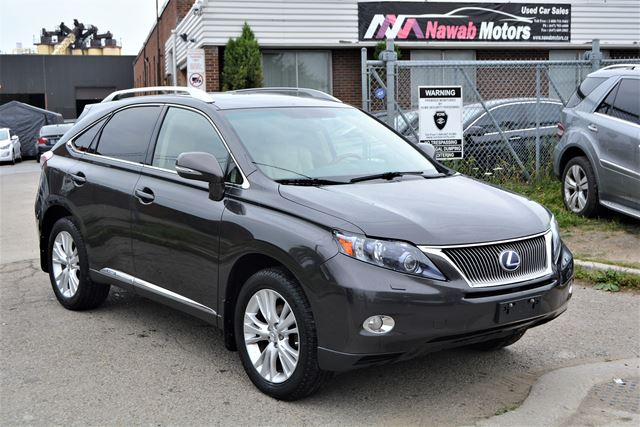 2010 Lexus RX 450h NO ACCIDENTS Hybrid Navigation Back Up Cam in Brampton, Ontario