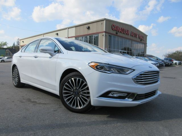 2017 FORD Fusion SE AWD, NAV, ROOF, LEATHER! in Stittsville, Ontario