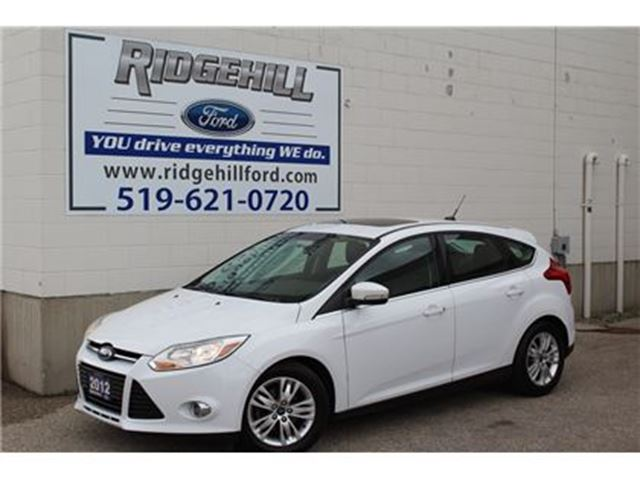 2012 Ford Focus SEL  LEATHER  SUNROOF  TOUCHSCREEN in Cambridge, Ontario