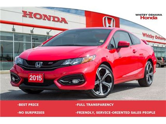 2015 HONDA Civic Si (MT) in Whitby, Ontario