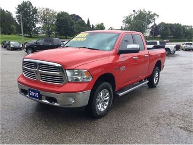 2015 dodge ram 1500 big horn 4x4 eco diesel bucket seats arthur ontario car for sale 2837293. Black Bedroom Furniture Sets. Home Design Ideas