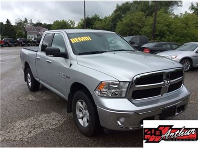 2017 DODGE RAM 1500 SLT Quad Cab 4x4 DEMO in Arthur, Ontario