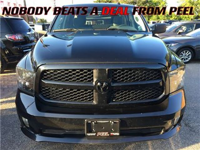 2016 Dodge RAM 1500 ST**BLACKTOP**CAR PROOF CLEAN** in Mississauga, Ontario