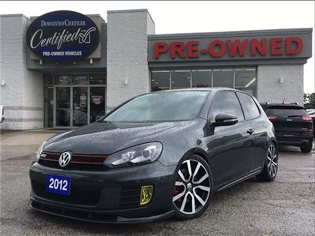 2012 Volkswagen Golf GTI 3-Door (M6)..$184 b/w+hst..$0 down..72m..4.9% in Toronto, Ontario