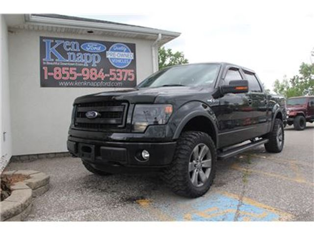 2013 Ford F-150 FX4 LEATHER NAV SUNROOF HEATED SEATS in Essex, Ontario