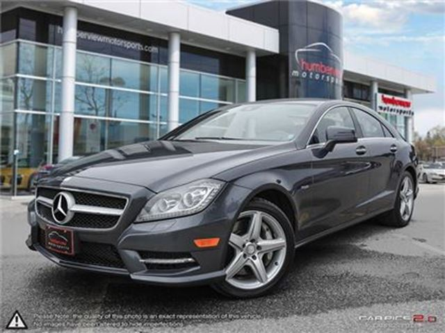 2012 MERCEDES-BENZ CLS-CLASS CLS550 4MATIC in Mississauga, Ontario