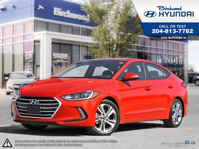 2017 Hyundai Elantra GLS Power Tilt and Silde Sunroof in Winnipeg, Manitoba
