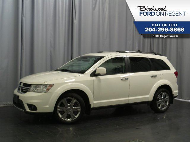 2012 Dodge Journey R/T AWD *Heated Leather* in Winnipeg, Manitoba