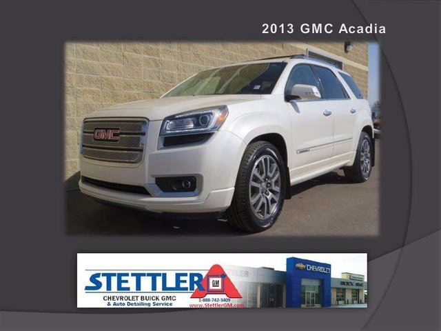 2013 GMC ACADIA Denali All-wheel Drive in Stettler, Alberta