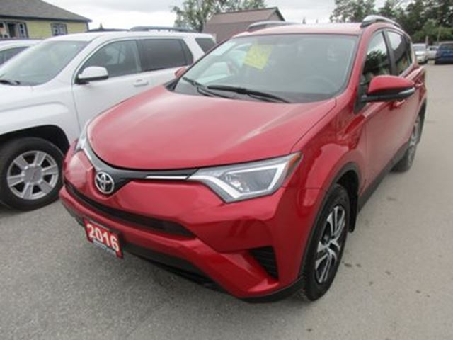 2016 Toyota RAV4 LOADED LE MODEL 5 PASSENGER 2.5L - DOHC.. AWD.. in Bradford, Ontario