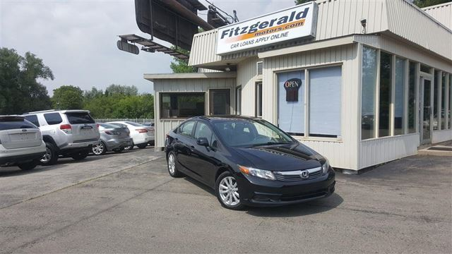 2012 Honda Civic EX-L - LEATHER! NAVIGATION! in Kitchener, Ontario