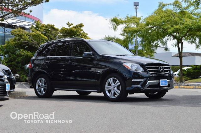 2012 MERCEDES-BENZ M-CLASS ML 350 in Richmond, British Columbia