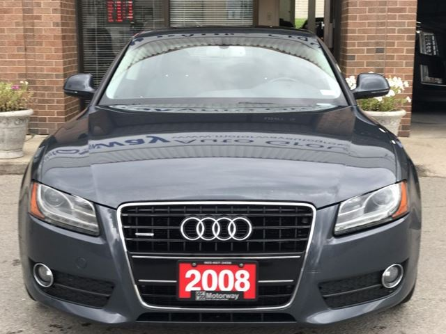 2008 Audi A5 3.2 Quattro W/ Navigation in Mississauga, Ontario