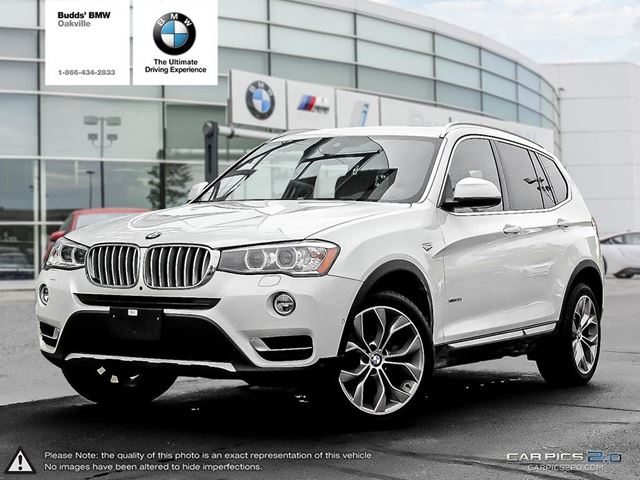 2017 BMW X3 xDrive35i in Oakville, Ontario