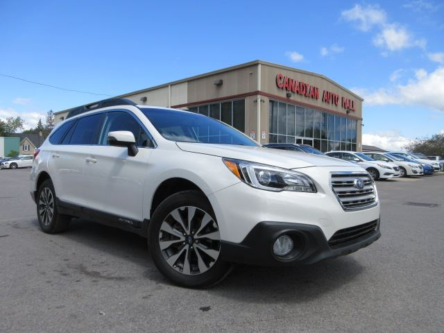2015 Subaru Outback 2.5i LIMITED, NAV, ROOF, LEATHER! in Stittsville, Ontario