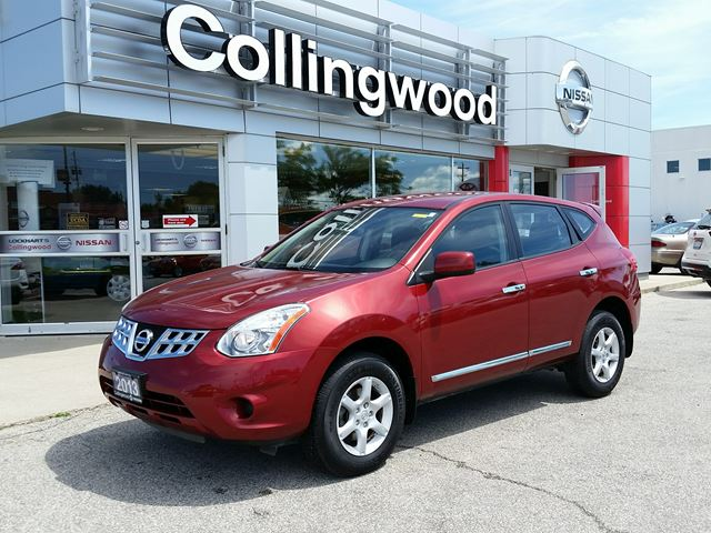 2013 Nissan Rogue S FWD *1 OWNER - LOW KM'S* in Collingwood, Ontario