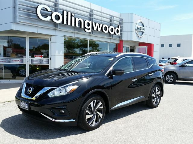 2017 Nissan Murano Platinum *EXECUTIVE DEMO* in Collingwood, Ontario