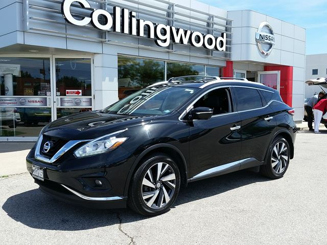 2015 Nissan Murano Platinum AWD *1 OWNER* in Collingwood, Ontario